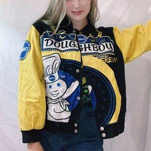 Pillsbury Doughboy Vintage Racing Jacket